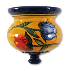 Hand Painted Spanish Wall Planter (Tulipan)