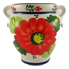 Hand painted Spanish wall planter (ref 210/FR)