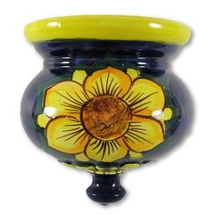 Hand Painted Spanish Wall Planter (Girasol)