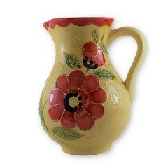 Hand painted Spanish Sangria Jug (Amapola Flor)