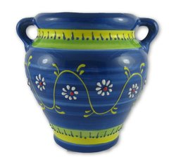 Hand Painted Spanish Wall Planter (Arco C)