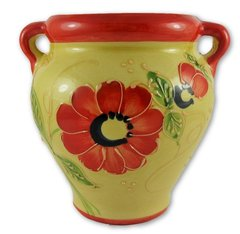 Hand painted Spanish wall planter (ref 210/MA)