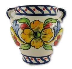 Hand painted Spanish wall planter (ref 210/SVA)