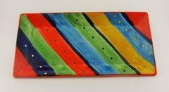 Hand painted Spanish Platter (Rayas)