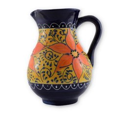 Hand painted Spanish Sangria Jug (Azahara)