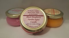 Black Raspberry and Vanilla (type) Candle