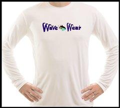 Wave Wear Tuna Microfiber Long Sleeve T Shirt UPF 50 Solar Fishing Boating KayaK