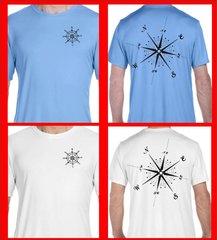 Hanes Compass T Shirt UPF 50 sun protection