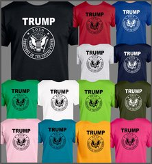 Donald Trump for President 2016 t shirt, GOP candidate Make America great Again