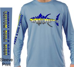 Snatchin Lips Custom Built Rods Long Sleeve Shirt UPF 50 Sun Protection