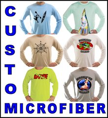 Custom Long Sleeve T Shirt UPF 50+ sun protection