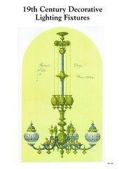 19TH CENTURY DECORATIVE LIGHT FIXTURES