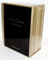 Collection Yves Saint Laurent et Pierre Berge Catalogue Six Volume Set (NO BOX INCLUDED)