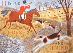 EMILY SUTTON: H IS FOR HORSE AND HOUND
