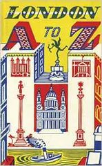 London A to Z by John Metcalf and Edward Bawden