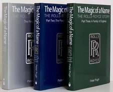 The Magic of a Name: The Rolls-Royce Story, 3 VOL. BOXED SET - Pt.1 The First 40 Years, Pt.2 The Power Behind the Jets, Pt.3 A Family of Engines.