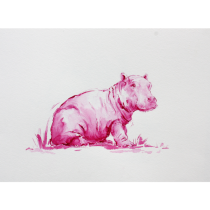 ANNABEL POPE : PINK HIPPO