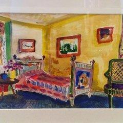 Lottie Cole: Watercolour of Charleston