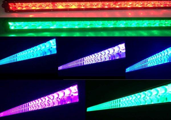 52 Quot Led Color Changing Light Bar Millar Light Bars Fx