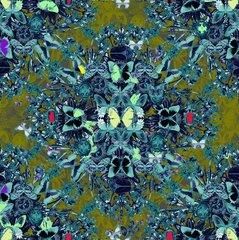 'Butterflies in the woods' Silk Scarfs