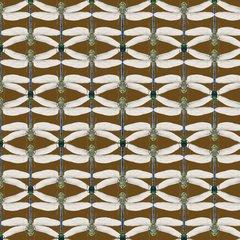 Bugs in Brown Fabric