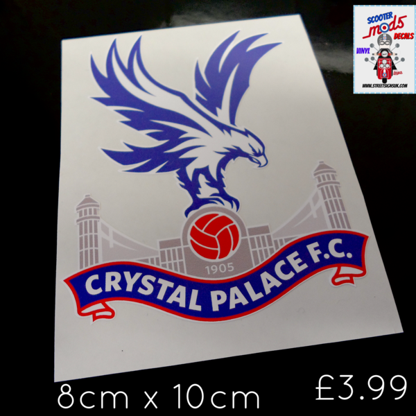 Crystal Palace F.C car sticker , scooter sticker , wall art