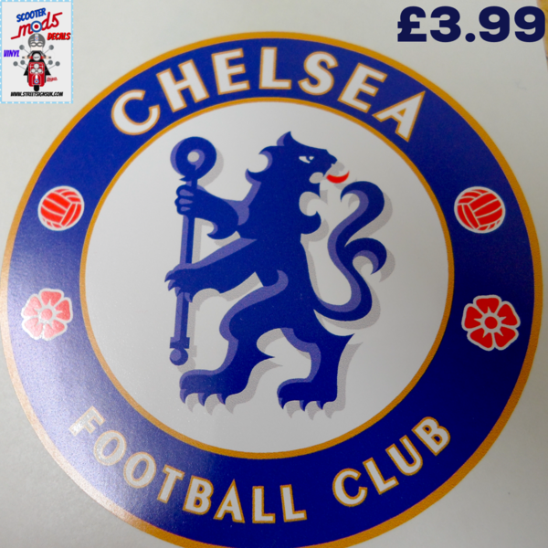 Chelsea fc car,scooter,motorbike decal sticker wall art print and cut