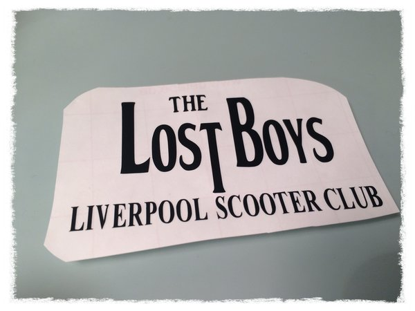 The Lost Boys self adhesive die cut vinyl decal,sticker,transfer,clothing