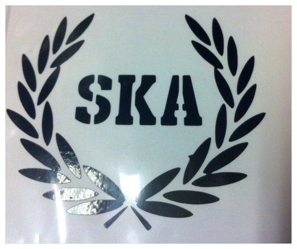 ska bespoke self adhesive vinyl decal/sticker