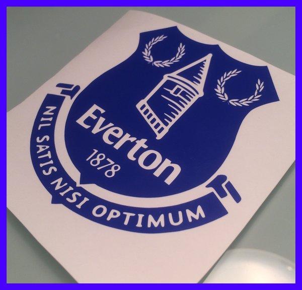 Everton fc die cut self adhesive vinyl decal,sticker,graphics,wall art