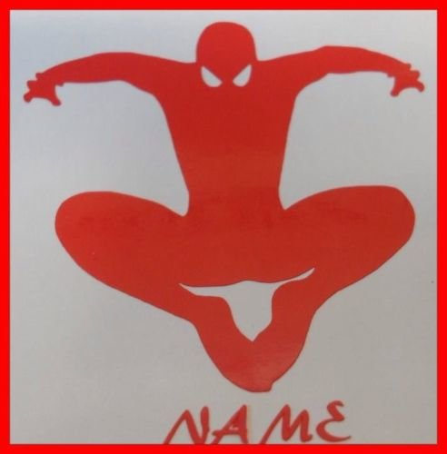 SPIDERMAN WALL ART/DECAL ideal for bedroom comes in various colours and sizes