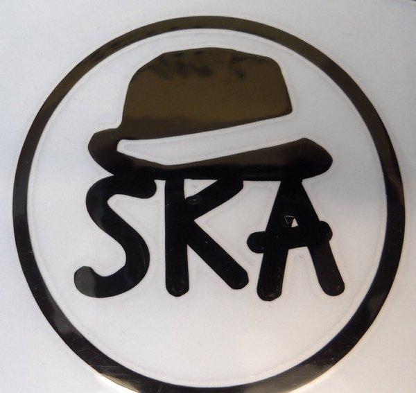bespoke ska logo in self adhesive vinyl decal,graphics,sticker scooter decals