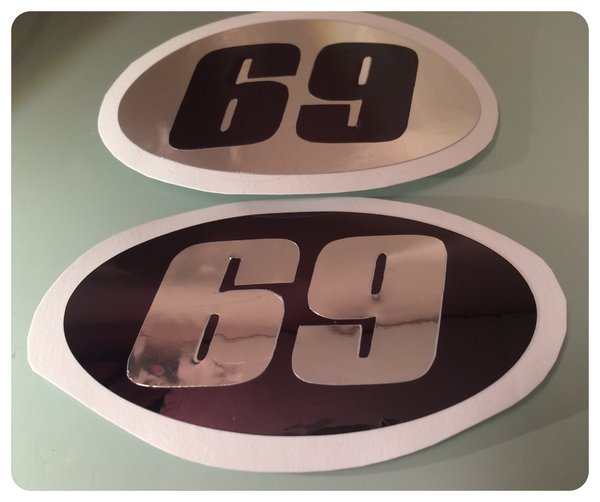scooter or motorbike number decals , scooter graphics customise your own decal