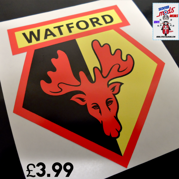 Watford F.C sticker decal wall art