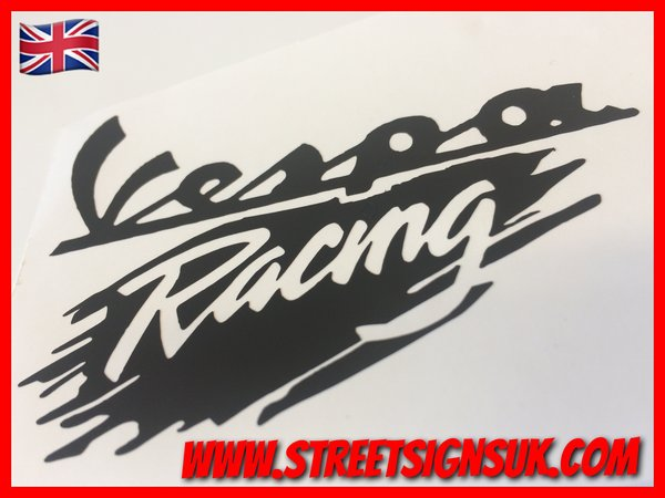 vespa racing decal,sticker,graphics,scooter transfers