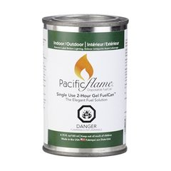 Pacific Flame 2-Hour Indoor/Outdoor Gel Fuel-12 Can Pack