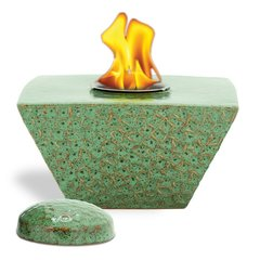 """8"""" Sage Taper FlamePot with Lid"""