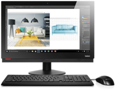 "Lenovo ThinkCentre M910z 23.8"" FHD Multi-Touch Intel® Core™ i5-7500 Processor (6M Cache, 3.4 GHz) 8GB DDR4-2400 1TB 5400 RPM DVD+/-RW Drive Intel® Integrated Graphics Windows 10 Pro 64 Transformer Stand Wifi + BT (2X2 AC) 3 Year 10NR000XAX"
