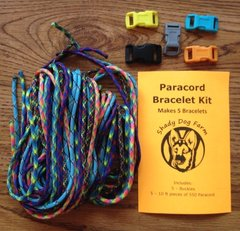 Paracord Bracelet Kit (Makes 5 Bracelets)