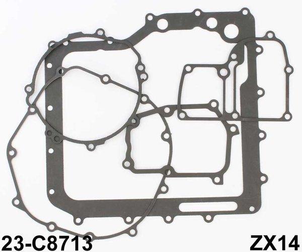 Turbo Kit Gsx R1000: Cometic Bottom End Gasket Kit Kawasaki Zx14