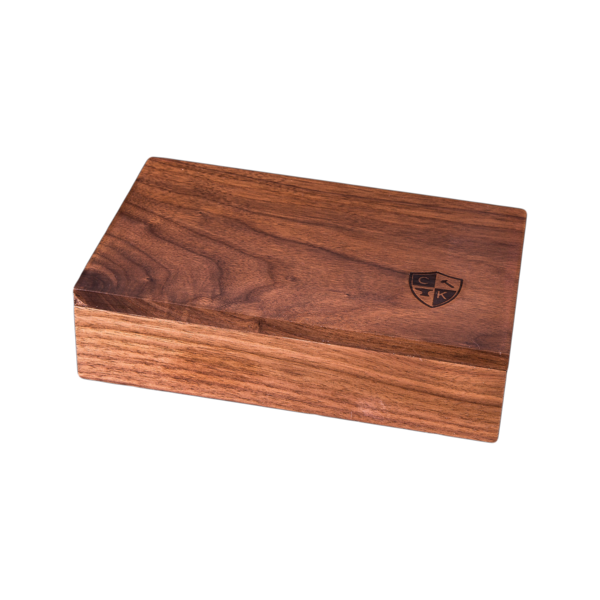 Solid Walnut Wood Game Box