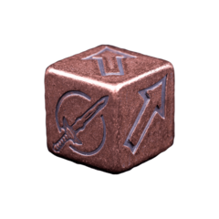 Solid Copper Dice - Scatter Dice