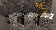 Invincible Tool Steel Dice - Dragon Design