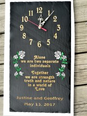 WEDDING CLOCK #1