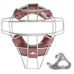 All-Star Traditional Mask Maroon Leather Titanium