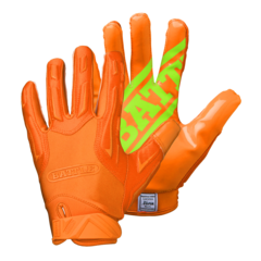 Battle Hybrid Adult Football Receiver Gloves