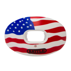 Battle Oxygen American Flag Football Mouthguard