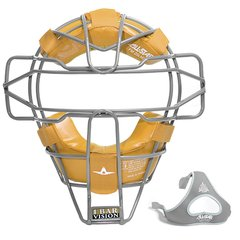 All-Star Traditional Mask Silver Leather