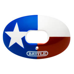 Battle Oxygen Texas Flag Football Mouthguard