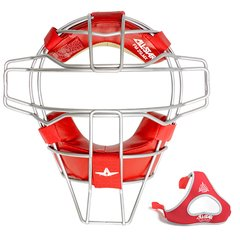 All-Star Traditional Mask Scarlet Leather Titanium